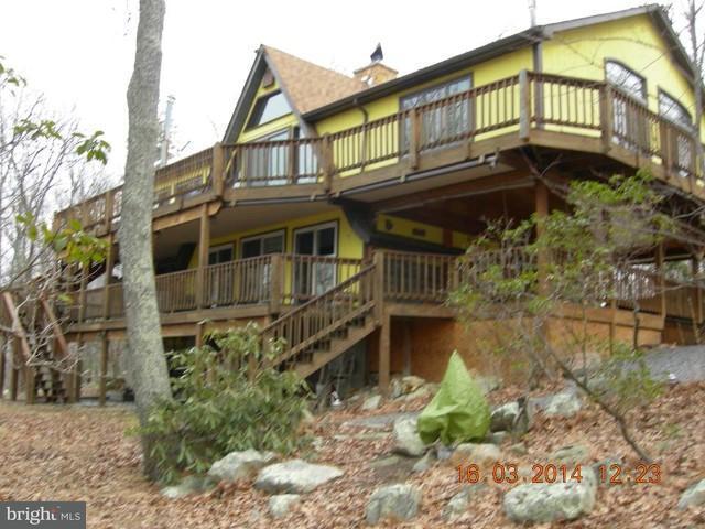 Частный односемейный дом для того Продажа на 1855 Ritter Drive 1855 Ritter Drive Capon Bridge, Западная Виргиния 26711 Соединенные Штаты