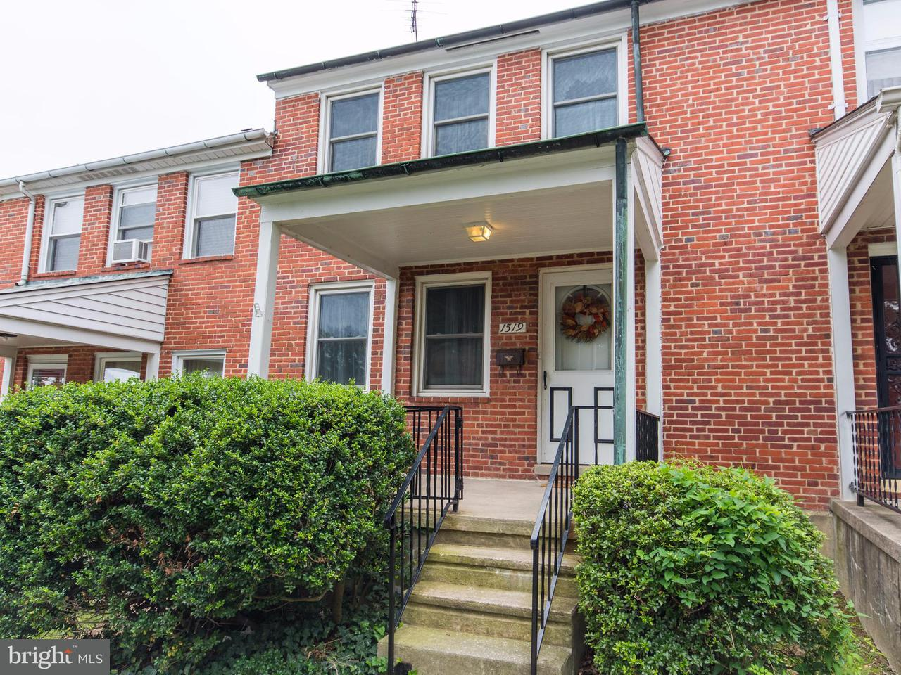 Single Family for Sale at 1519 Ramblewood Rd Baltimore, Maryland 21239 United States