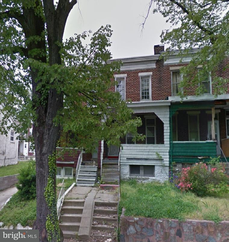 Single Family for Sale at 1514 Ellamont St Baltimore, Maryland 21216 United States