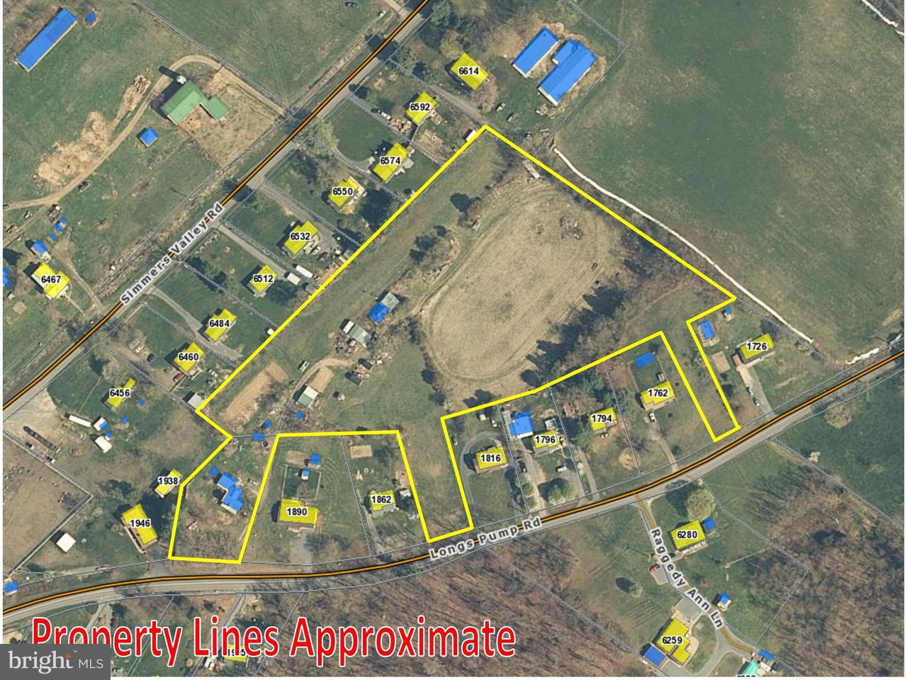 Land for Sale at 1938 Longs Pump Rd Harrisonburg, Virginia 22802 United States
