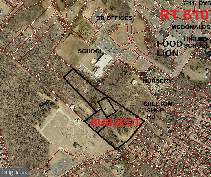 Land for Sale at 130 Shelton Shop Rd Stafford, Virginia 22554 United States