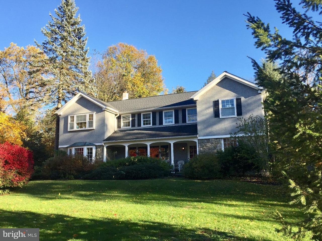 独户住宅 为 销售 在 514 CRESHEIM VALLEY Road Wyndmoor, 宾夕法尼亚州 19038 美国
