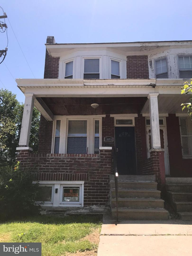 Single Family for Sale at 3001 Arunah Ave Baltimore, Maryland 21216 United States