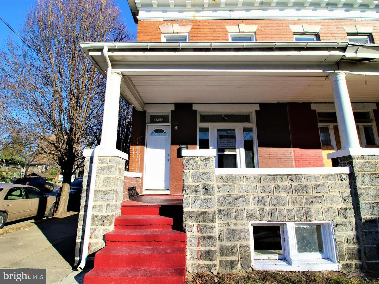 Other Residential for Rent at 2737 Howard St Baltimore, Maryland 21218 United States