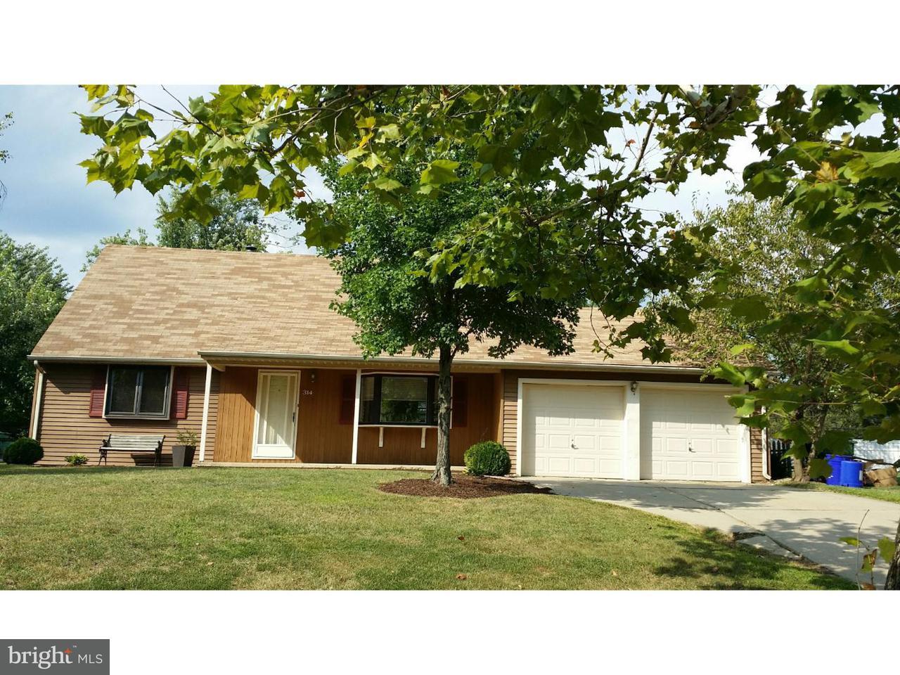 Casa Unifamiliar por un Alquiler en 314 WINDSOR Lane Evesham Twp, Nueva Jersey 08053 Estados Unidos