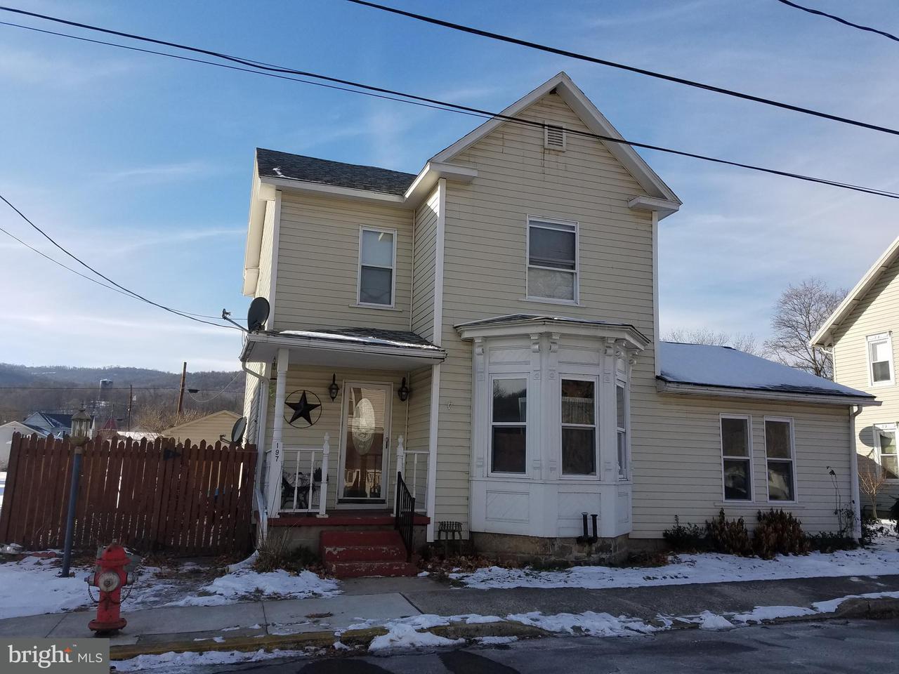 Single Family for Sale at 197 Cunningham Dr Hyndman, Pennsylvania 15545 United States