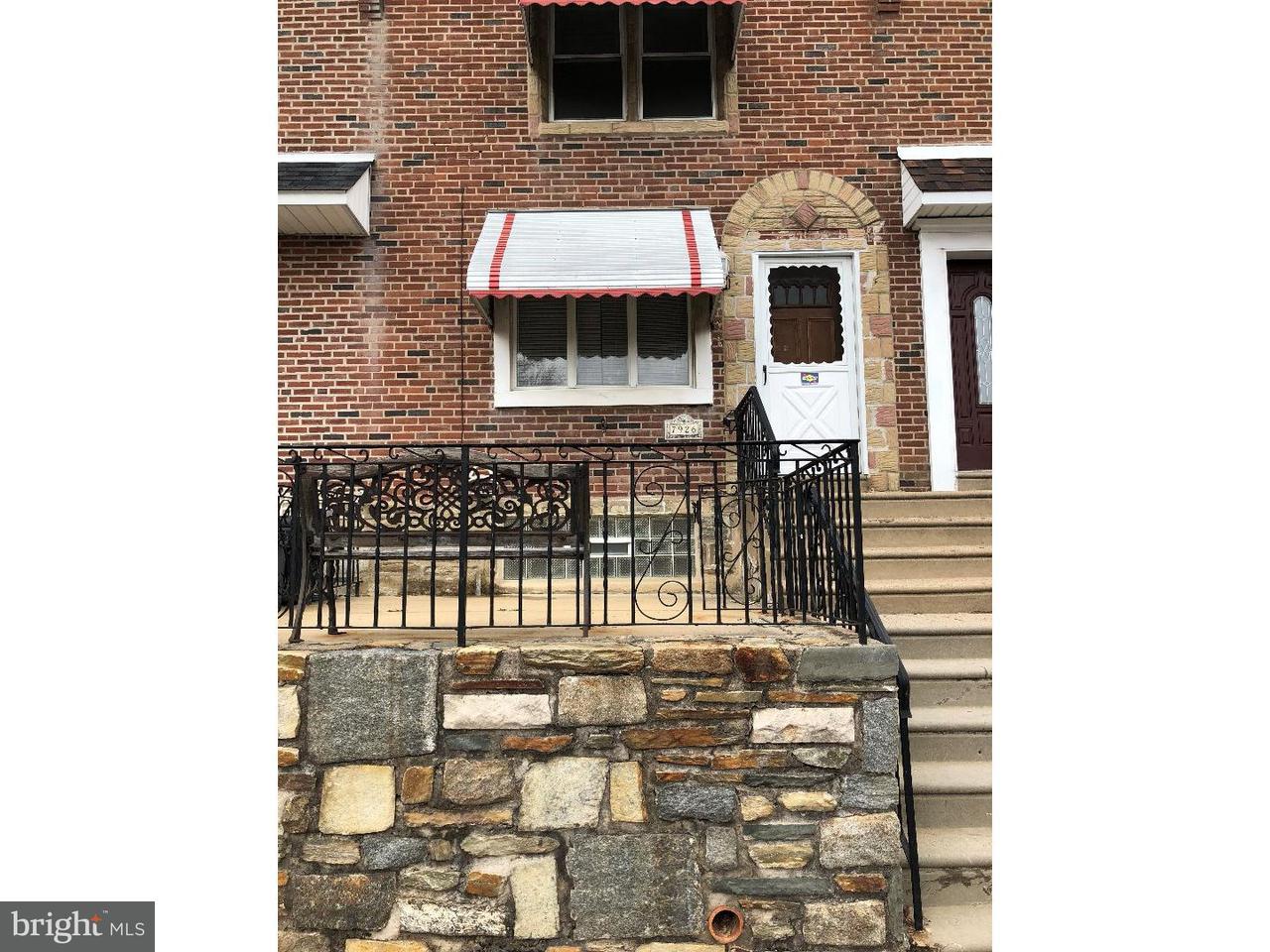 Townhouse for Rent at 7926 MARSDEN Street Philadelphia, Pennsylvania 19136 United States