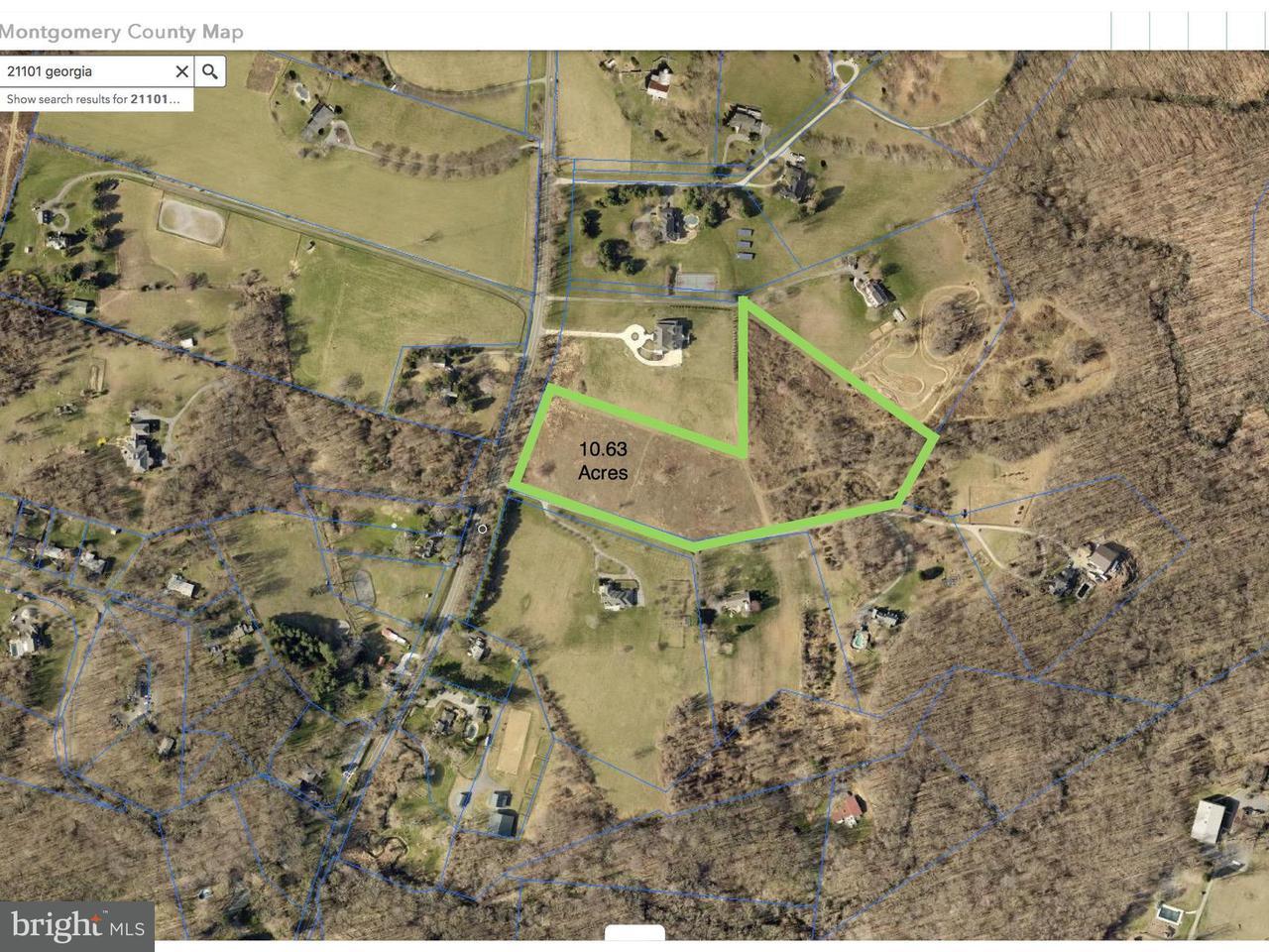Land for Sale at 21101 Georgia Avenue 21101 Georgia Avenue Brookeville, Maryland 20833 United States