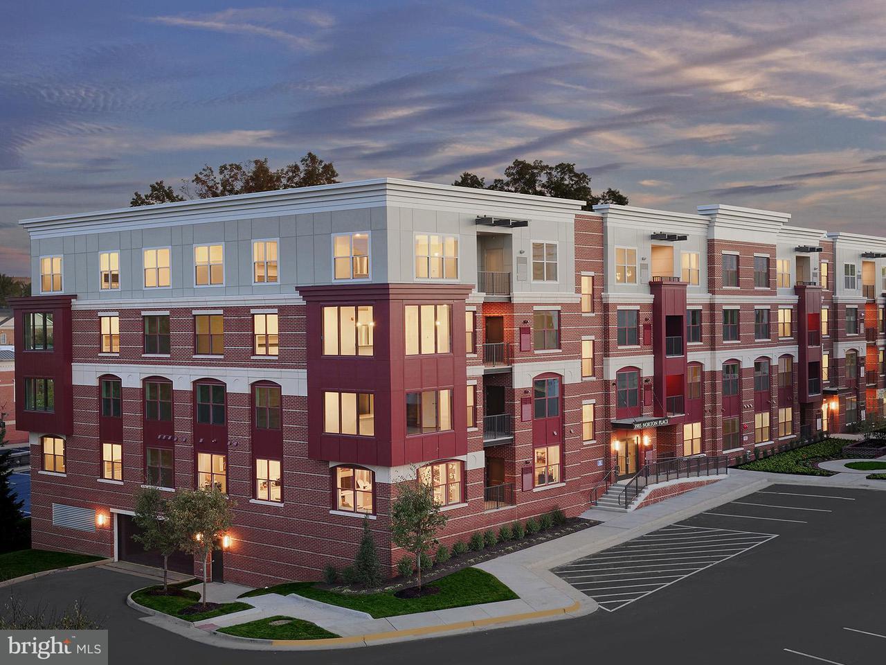 Appartement en copropriété pour l Vente à 3985 Norton Pl #10602 3985 Norton Pl #10602 Fairfax, Virginia 22030 États-Unis