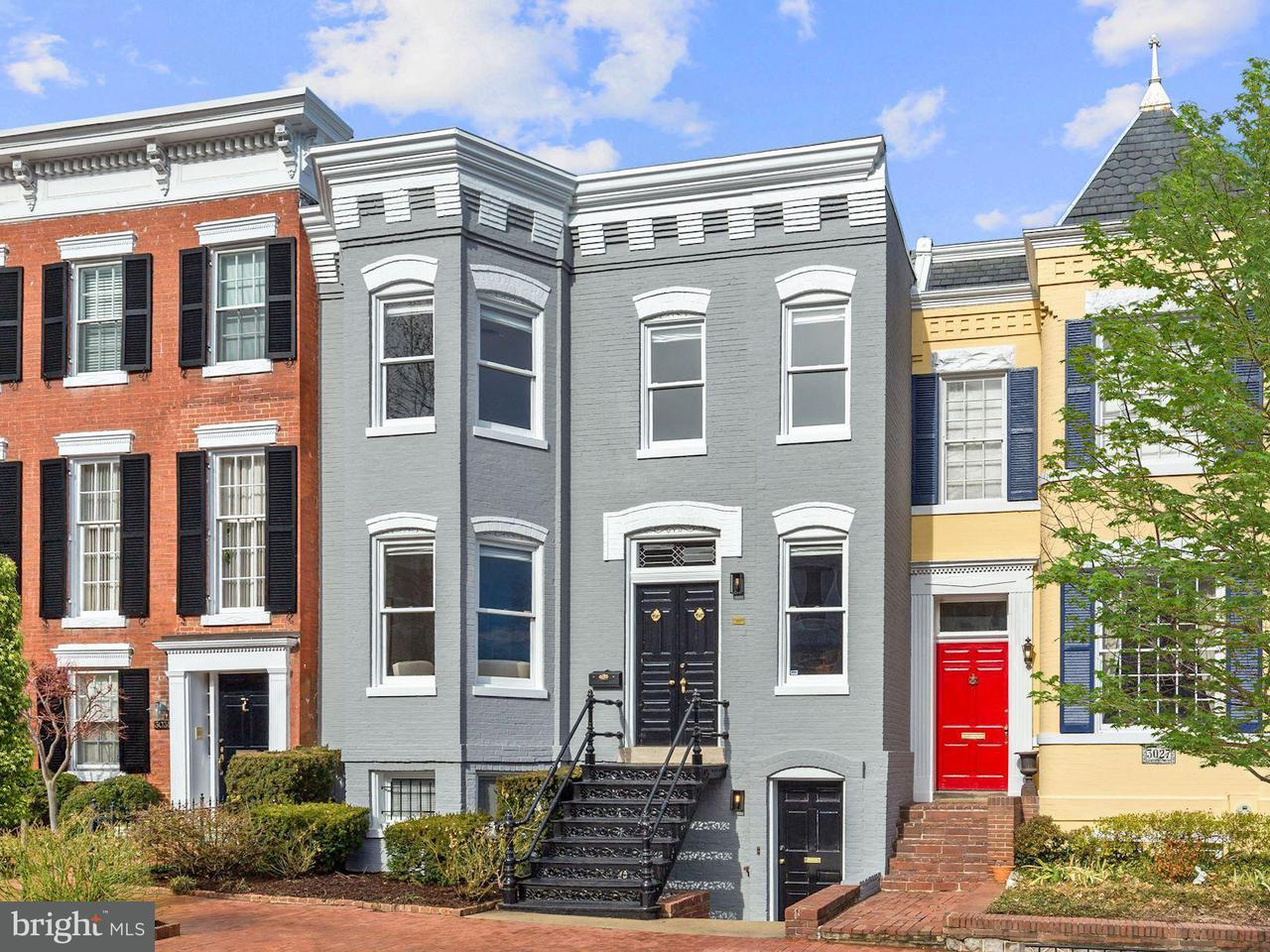 Townhouse for Sale at 3029 O St Nw 3029 O St Nw Washington, District Of Columbia 20007 United States