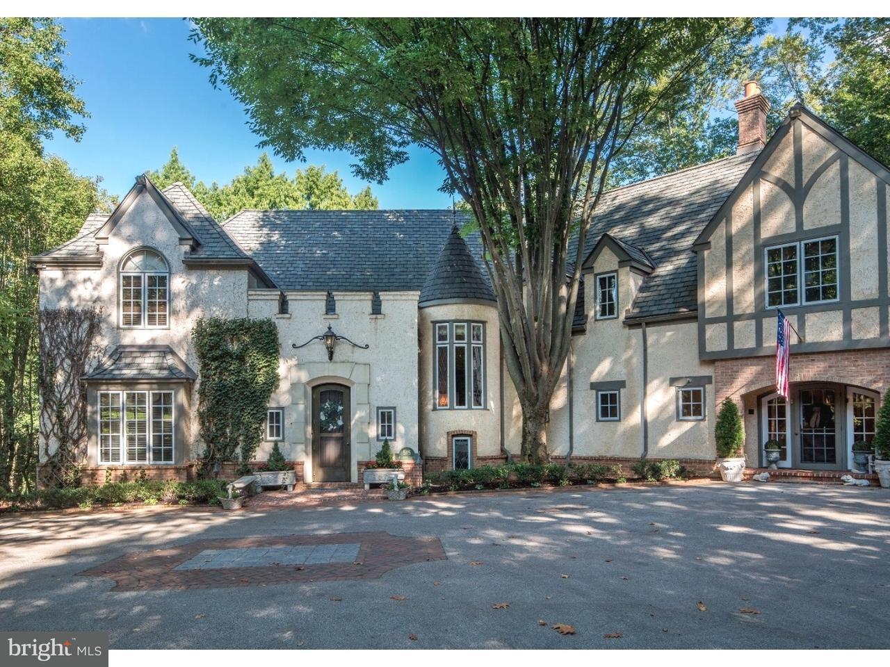 Частный односемейный дом для того Продажа на 515 MULBERRY Lane Haverford, Пенсильвания 19041 Соединенные Штаты