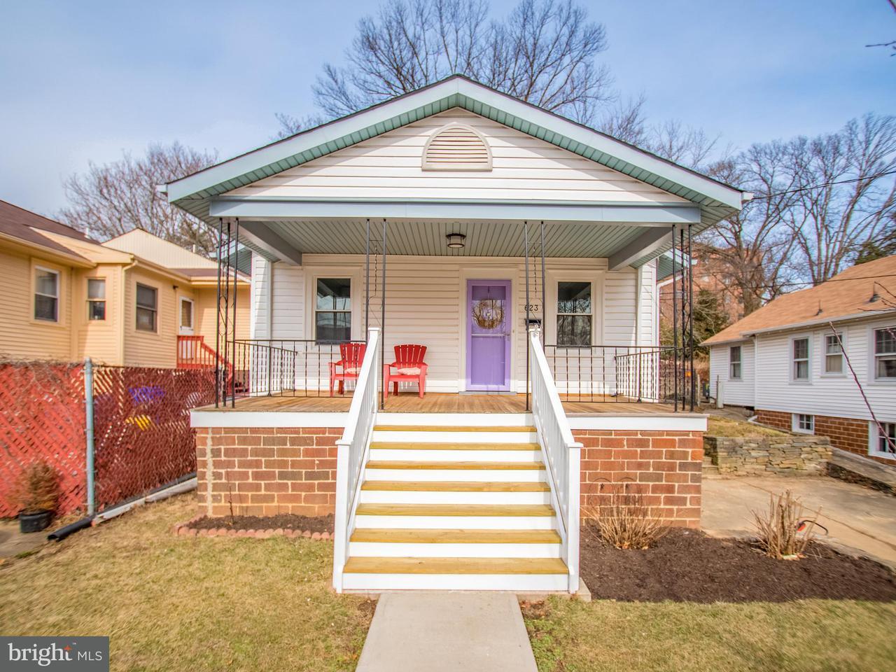 一戸建て のために 売買 アット 623 Mississippi Avenue 623 Mississippi Avenue Silver Spring, メリーランド 20910 アメリカ合衆国