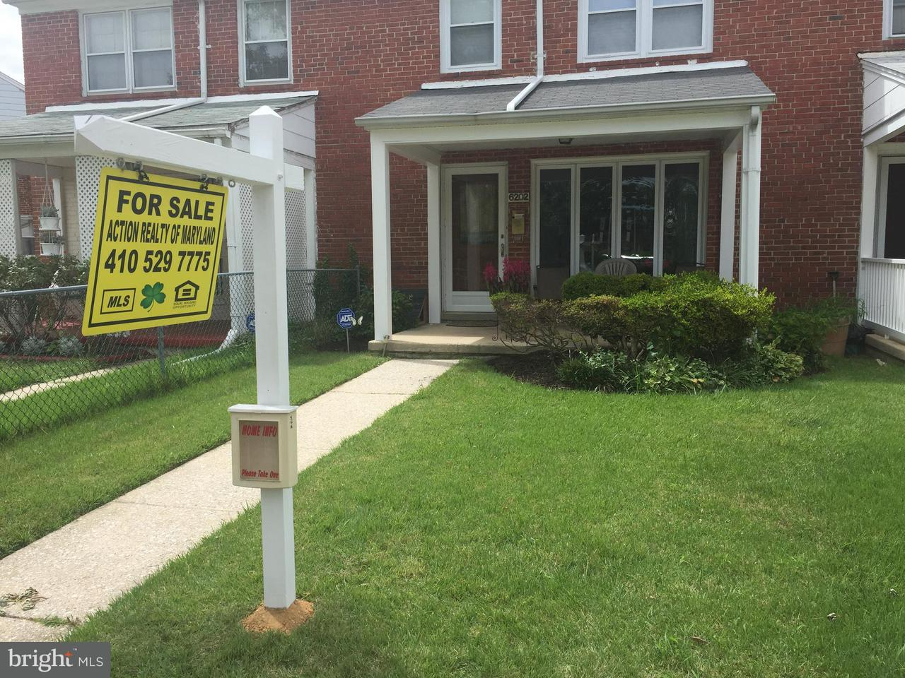 Single Family for Sale at 6202 Falkirk Rd Baltimore, Maryland 21239 United States
