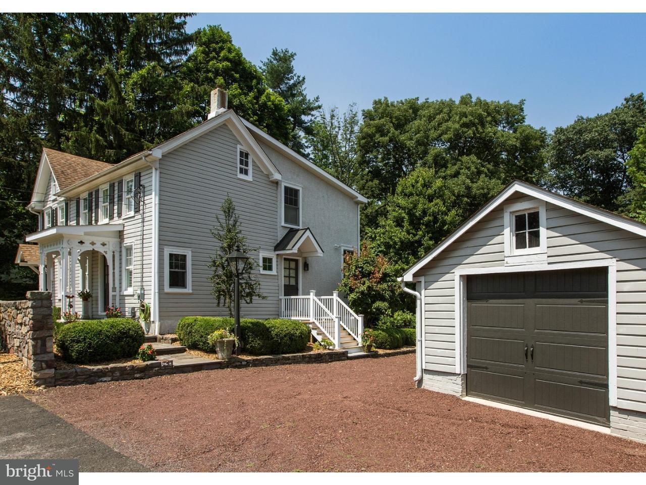 独户住宅 为 销售 在 5943 CARVERSVILLE Road Carversville, 宾夕法尼亚州 18902 美国在/周边: Solebury Township