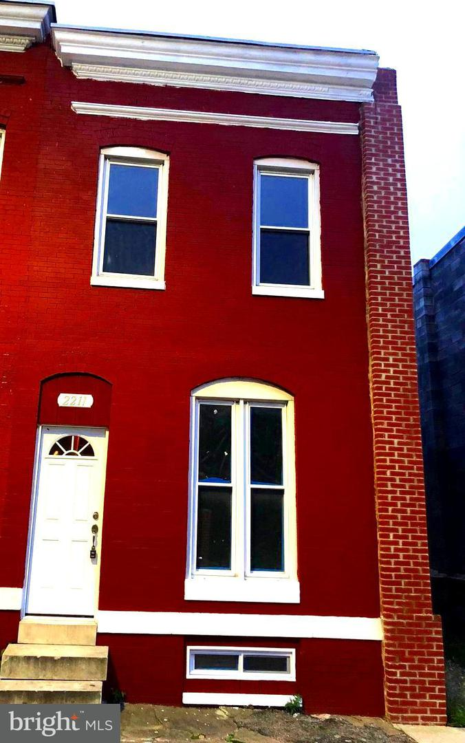 Single Family for Sale at 2211 Baltimore St Baltimore, Maryland 21223 United States