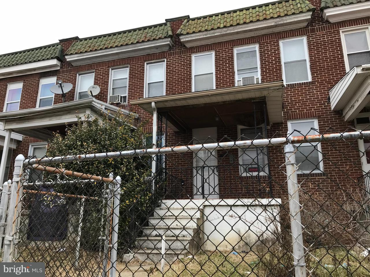 Single Family for Sale at 5313 Maple Ave Baltimore, Maryland 21215 United States