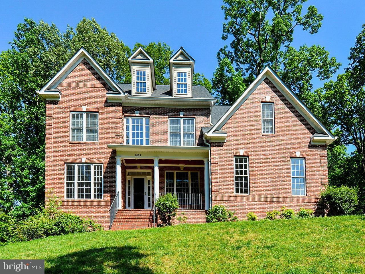 Single Family Home for Sale at 8599 Mount Zephyr Drive 8599 Mount Zephyr Drive Alexandria, Virginia 22309 United States
