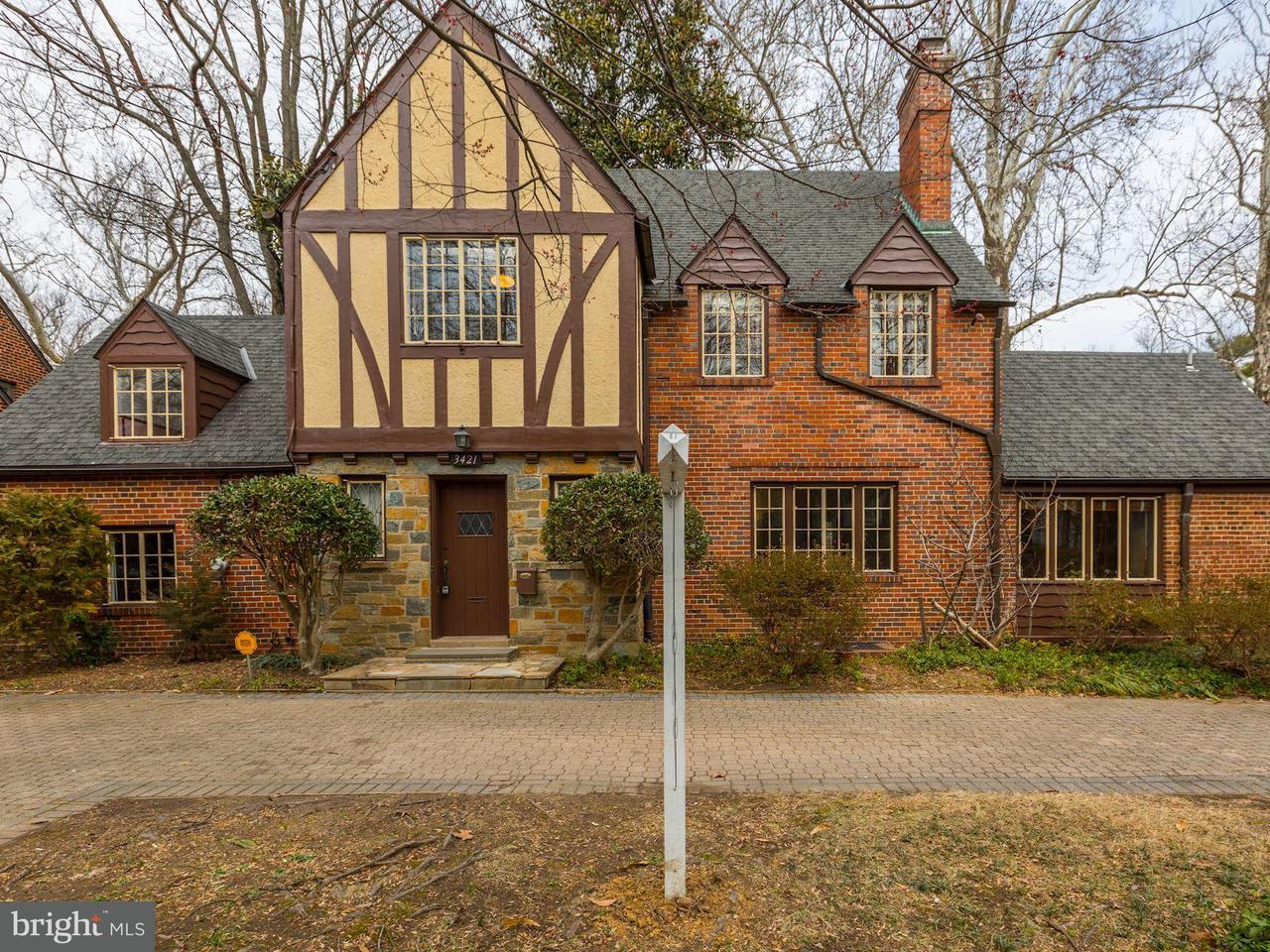 단독 가정 주택 용 매매 에 3421 Garrison St Nw 3421 Garrison St Nw Washington, 컬럼비아주 20008 미국