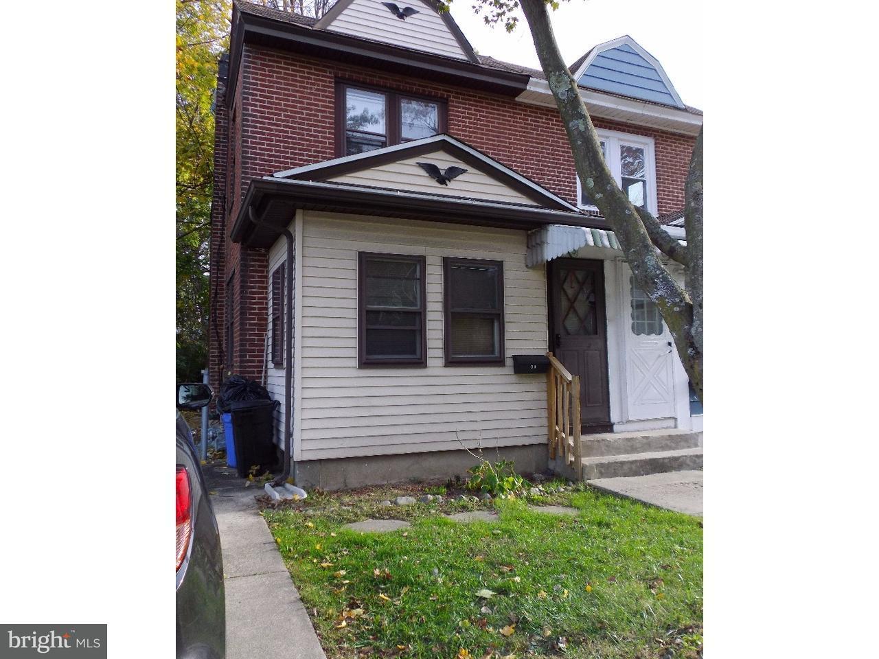 Casa unifamiliar adosada (Townhouse) por un Alquiler en 3A S GLEN Avenue Glenolden, Pennsylvania 19036 Estados Unidos