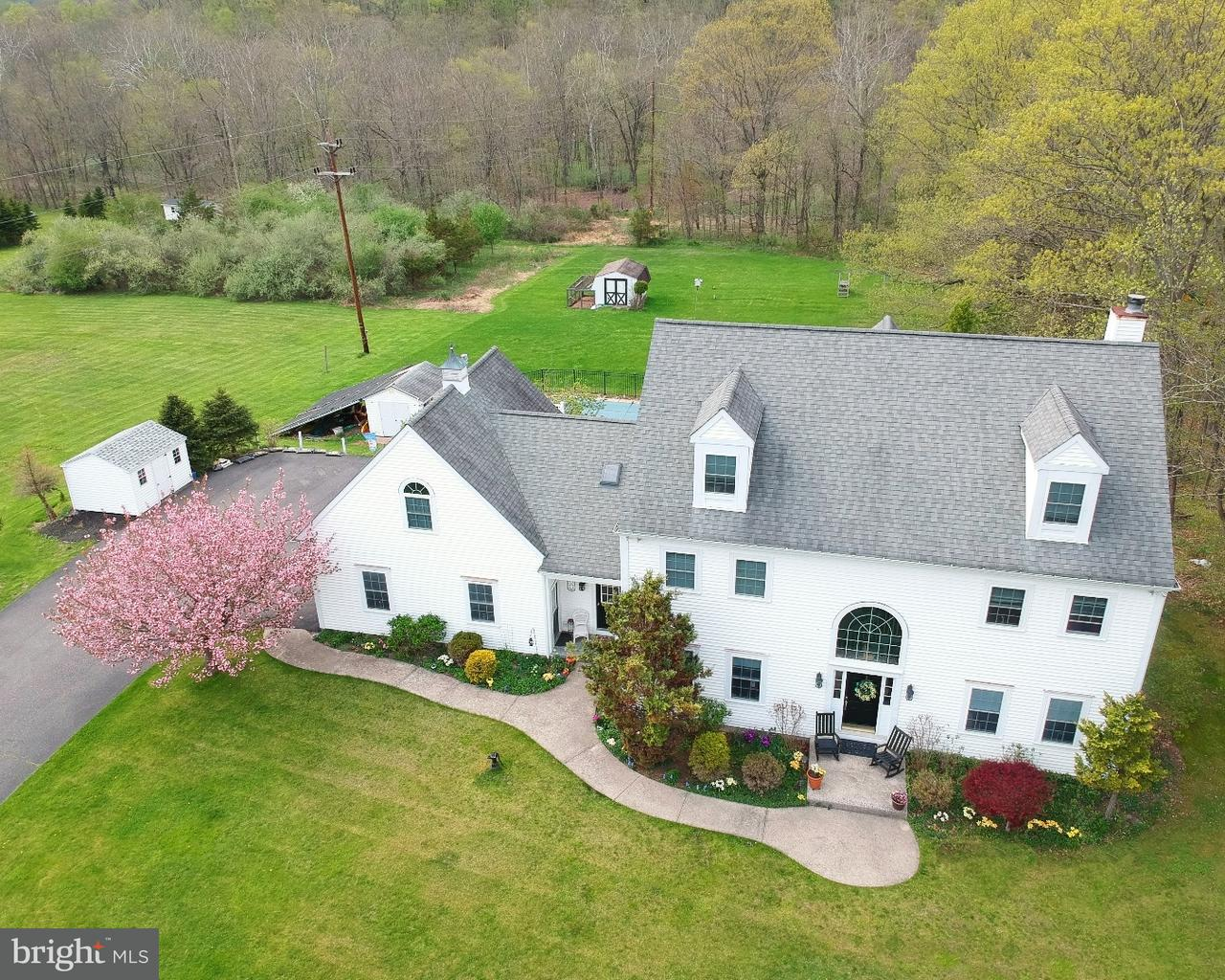 Single Family Home for Sale at 86 ALEXAUKEN CREEK Road Lambertville, New Jersey 08530 United StatesMunicipality: West Amwell Township