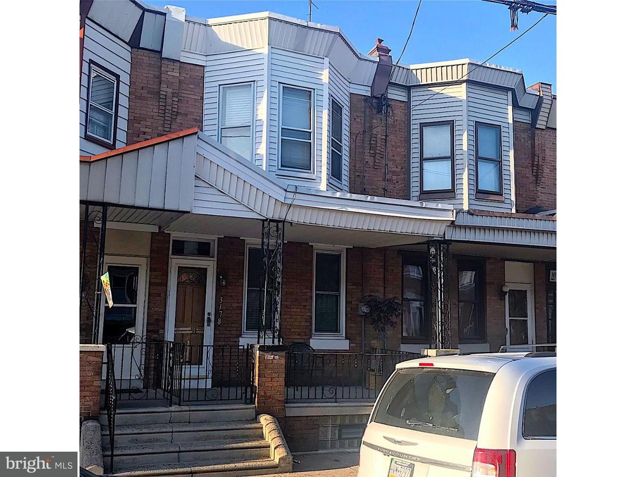 Casa unifamiliar adosada (Townhouse) por un Venta en 3178 TULIP Street Philadelphia, Pennsylvania 19134 Estados Unidos