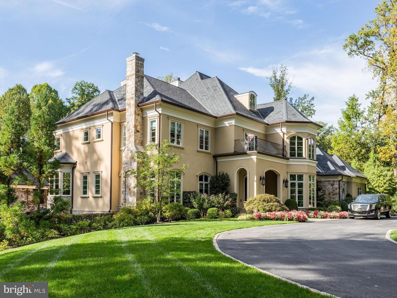 Maison unifamiliale pour l Vente à 9000 Burning Tree Road 9000 Burning Tree Road Bethesda, Maryland 20817 États-Unis
