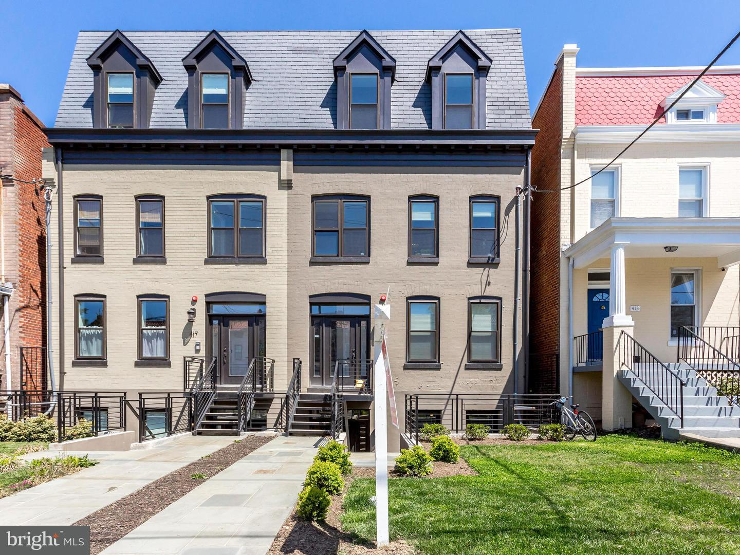 Single Family for Sale at 415 Randolph St NW #1 Washington, District Of Columbia 20011 United States