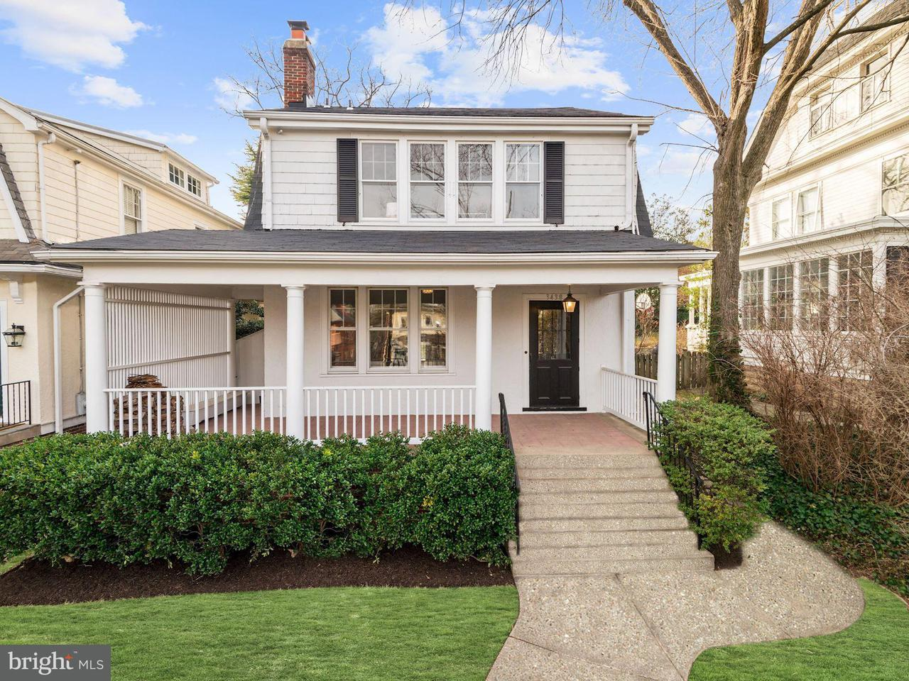 Single Family Home for Sale at 3438 34th Pl Nw 3438 34th Pl Nw Washington, District Of Columbia 20016 United States