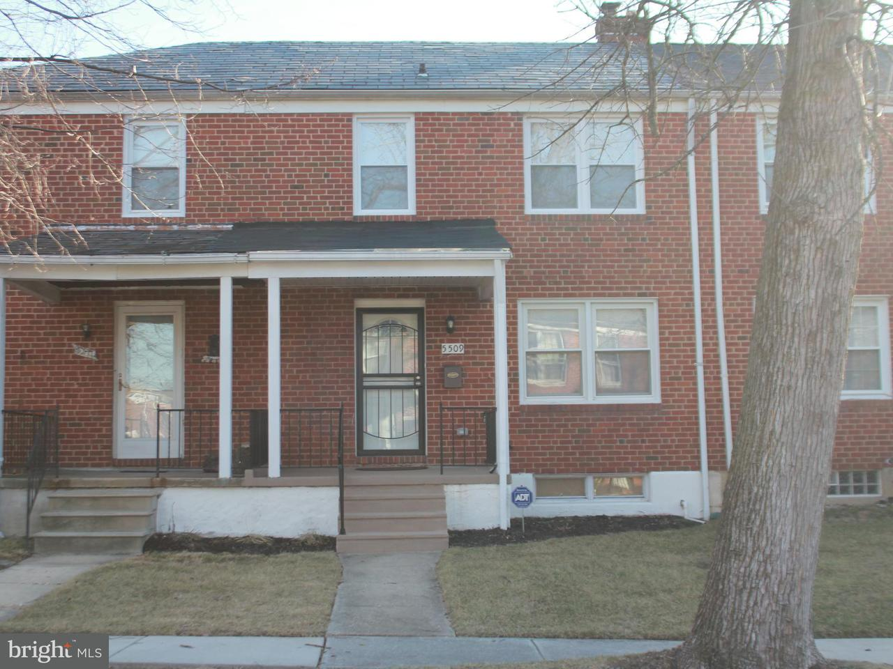 Single Family for Sale at 5509 Leith Rd Baltimore, Maryland 21239 United States