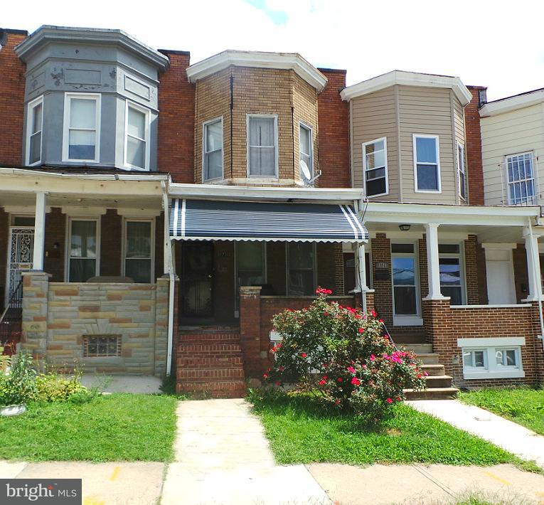 Single Family for Sale at 1731 Pulaski St N Baltimore, Maryland 21217 United States