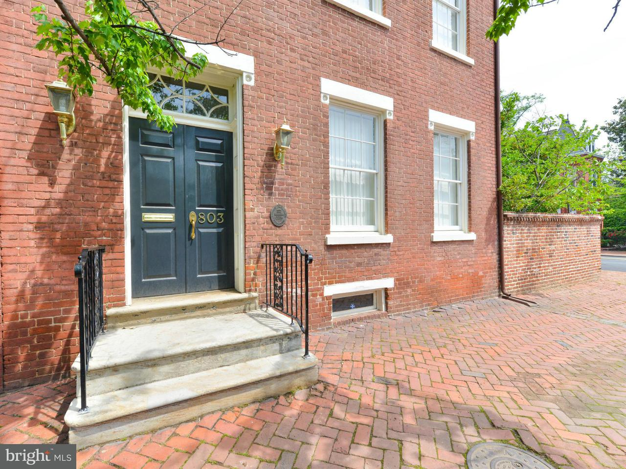 Townhouse for Sale at 803 Prince Street 803 Prince Street Alexandria, Virginia 22314 United States