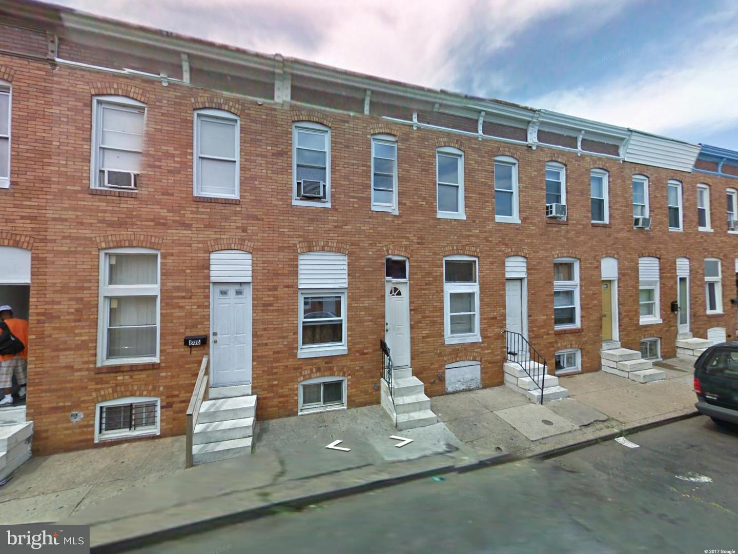 Single Family for Sale at 810 Curley St Baltimore, Maryland 21205 United States