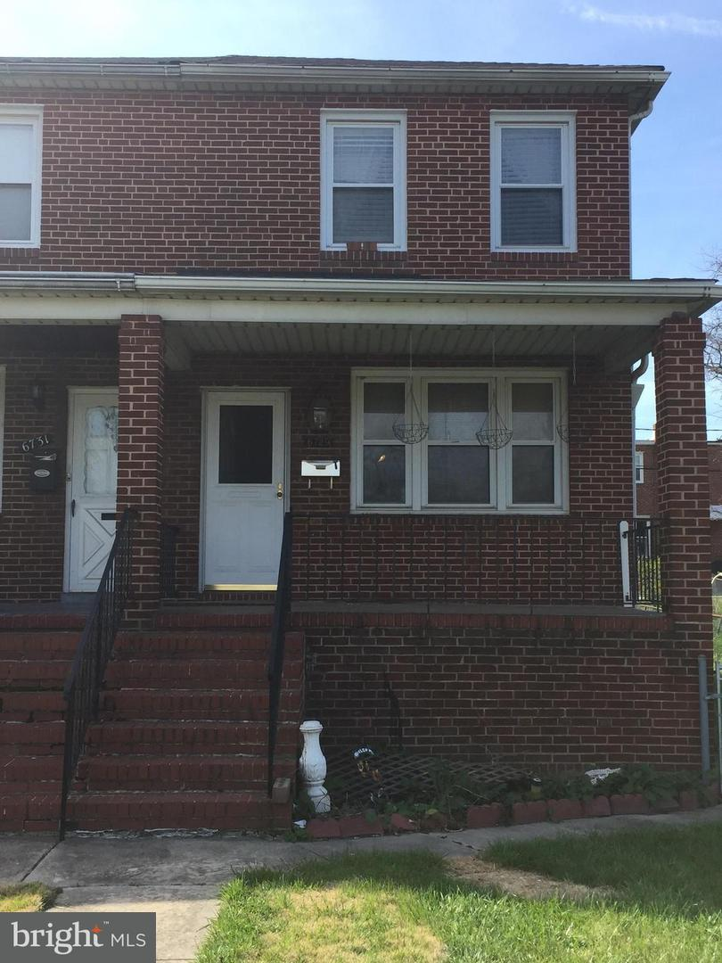 Single Family for Sale at 6729 Boston Ave Baltimore, Maryland 21222 United States