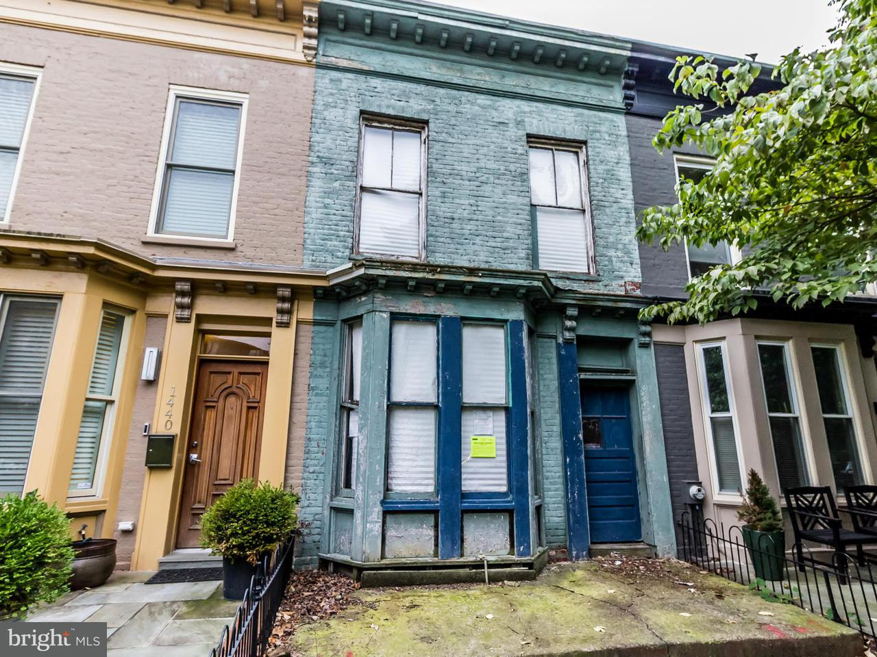 Townhouse for Sale at 1442 T St Nw 1442 T St Nw Washington, District Of Columbia 20009 United States