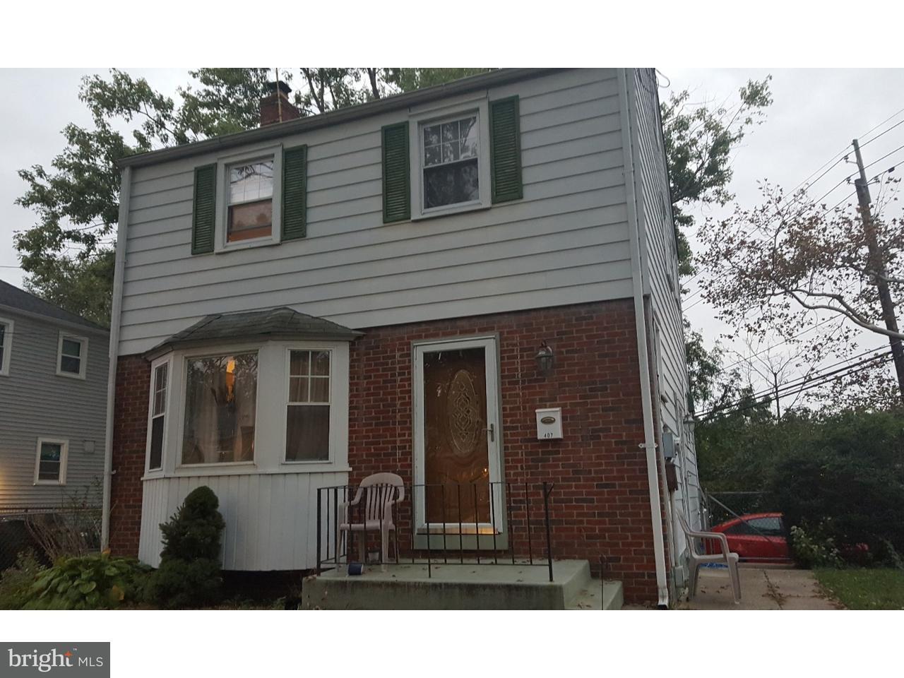 独户住宅 为 出租 在 407 ELM Avenue Woodbury, 新泽西州 08096 美国