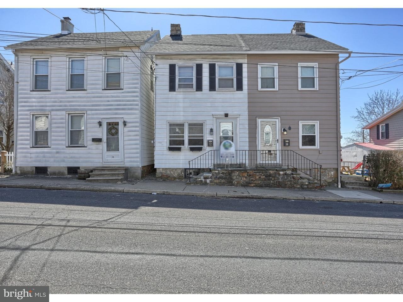 Частный односемейный дом для того Продажа на 32 E DEPOT Street Northampton, Пенсильвания 18055 Соединенные Штаты