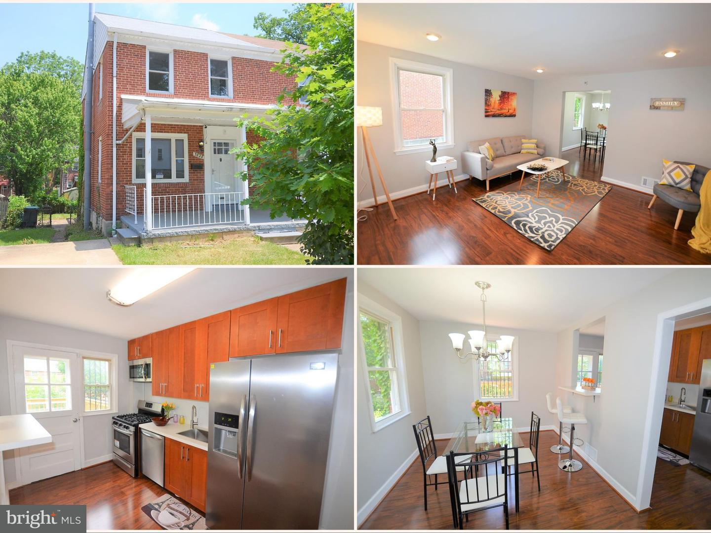 Single Family for Sale at 3828 Evergreen Ave Baltimore, Maryland 21206 United States