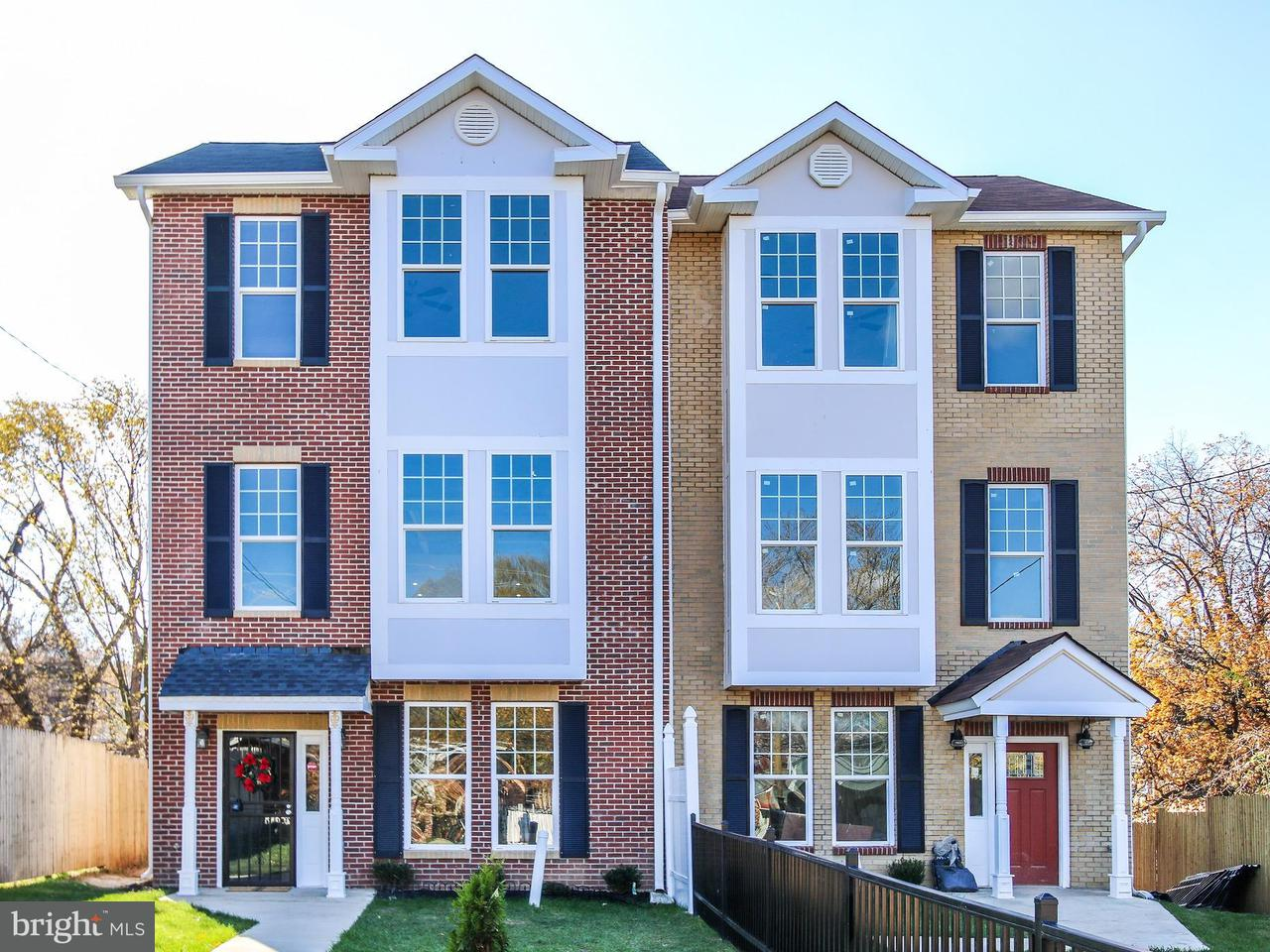 联栋屋 为 销售 在 5111 Lee St Ne 5111 Lee St Ne 华盛顿市, 哥伦比亚特区 20019 美国