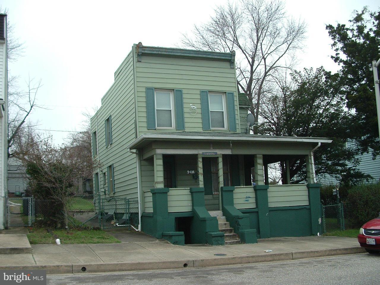 Single Family for Sale at 2421 Huron St Baltimore, Maryland 21230 United States