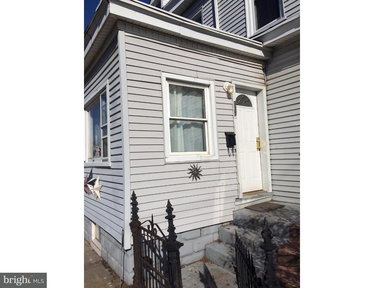 Townhouse for Rent at 337 HUDSON Street Gloucester City, New Jersey 08030 United States