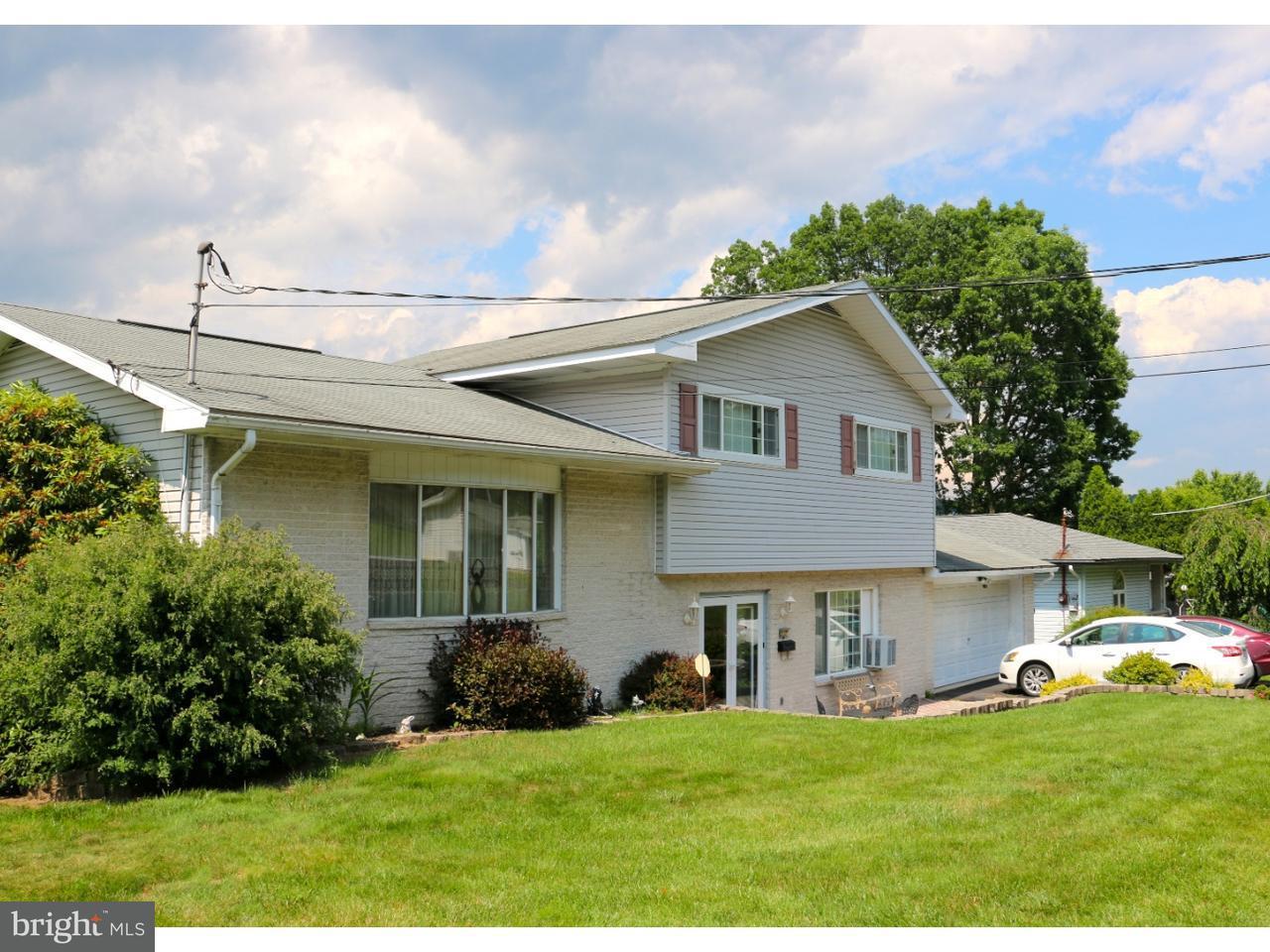 Частный односемейный дом для того Продажа на 517 W NICHOLAS Street Frackville, Пенсильвания 17931 Соединенные Штаты