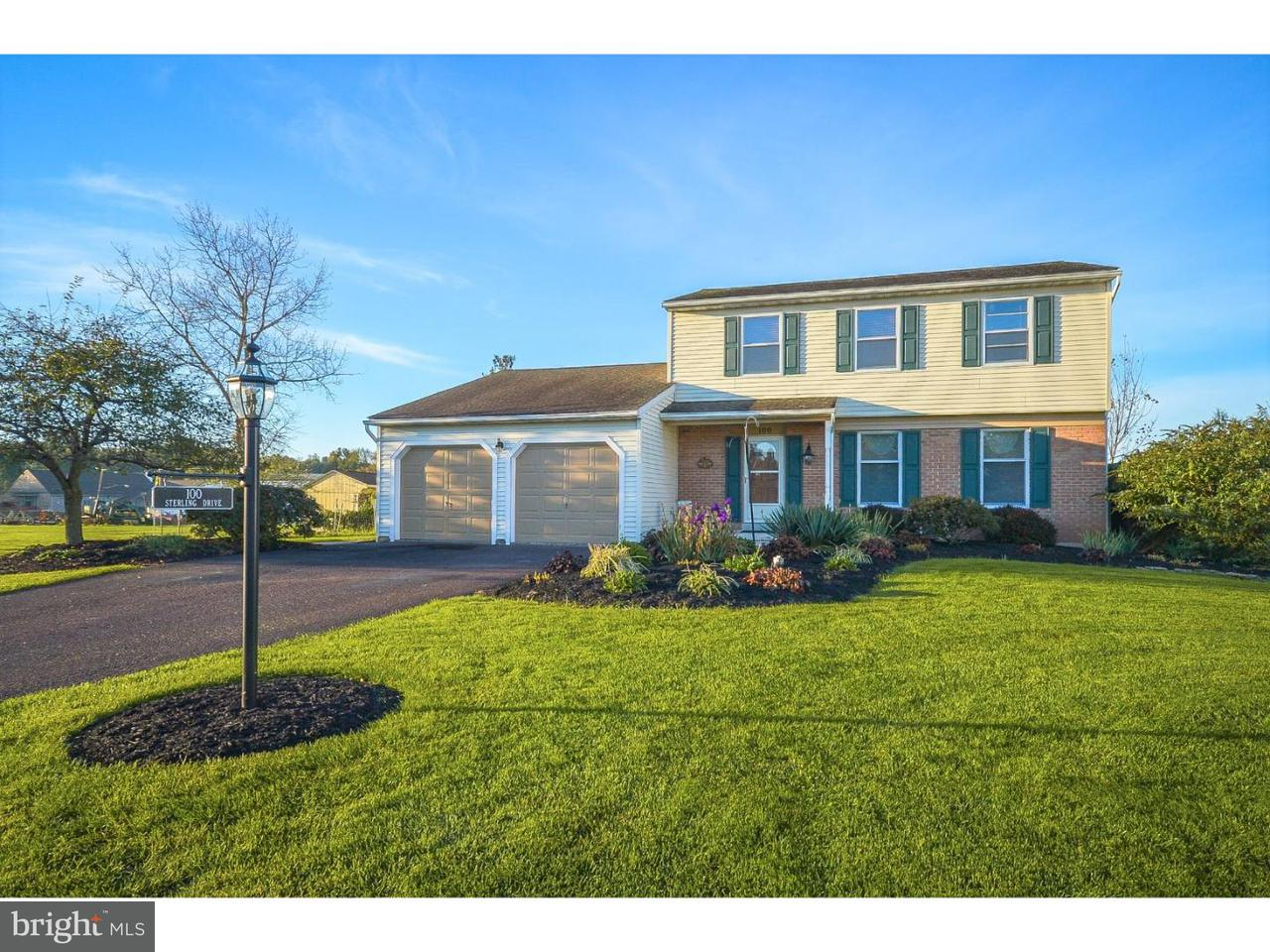 Single Family Home for Sale at 100 STERLING Drive Silverdale, Pennsylvania 18944 United States