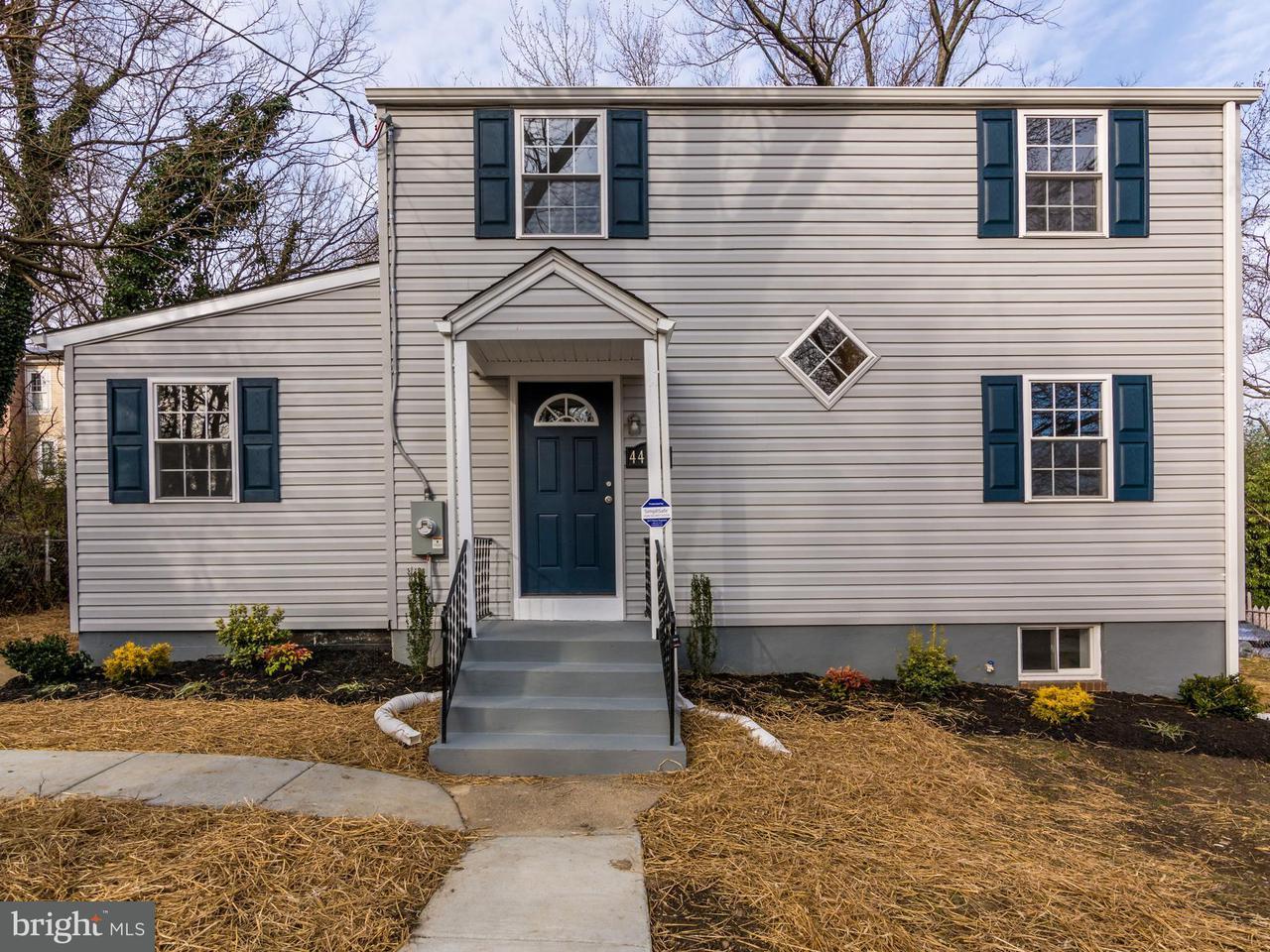 Casa Unifamiliar por un Venta en 4402 32nd Street 4402 32nd Street Mount Rainier, Maryland 20712 Estados Unidos