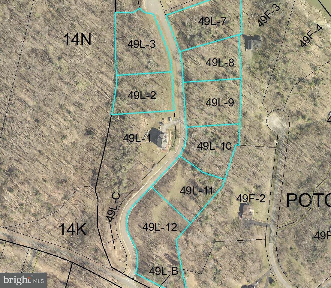 Terrain pour l Vente à 8 Lots- Osprey View Lane 8 Lots- Osprey View Lane Stafford, Virginia 22554 États-Unis