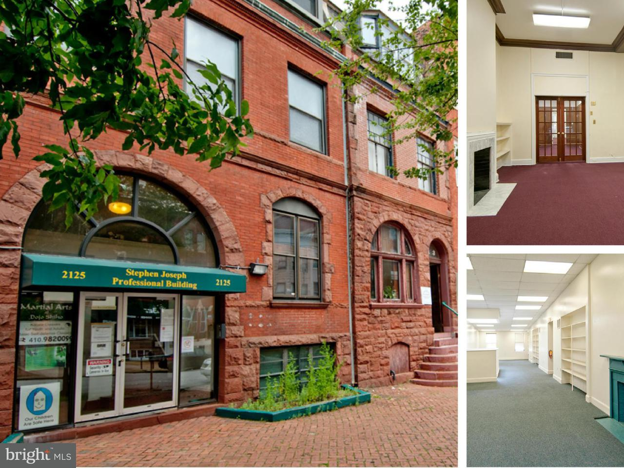 Commercial for Sale at 2125 Maryland Ave Baltimore, Maryland 21218 United States