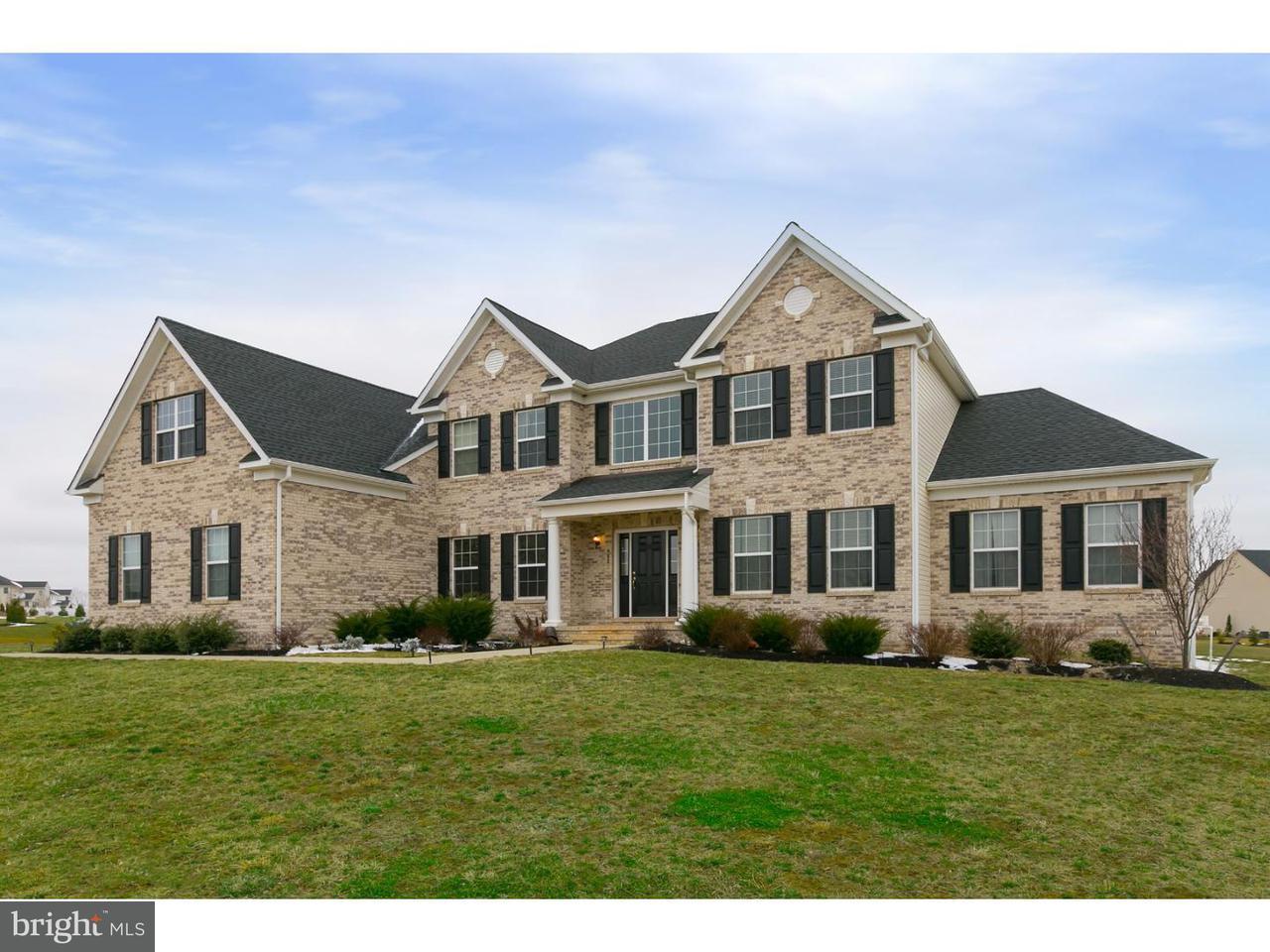 Maison unifamiliale pour l Vente à 403 CATTAIL Court Mullica Hill, New Jersey 08062 États-Unis