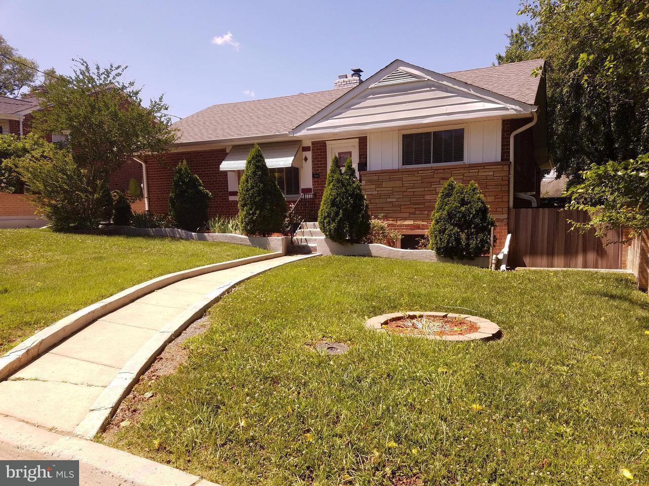 獨棟家庭住宅 為 出售 在 7904 Cole Avenue 7904 Cole Avenue Takoma Park, 馬里蘭州 20912 美國