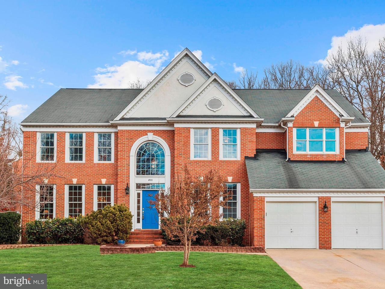 独户住宅 为 销售 在 400 Red Birch Road 400 Red Birch Road Millersville, 马里兰州 21108 美国