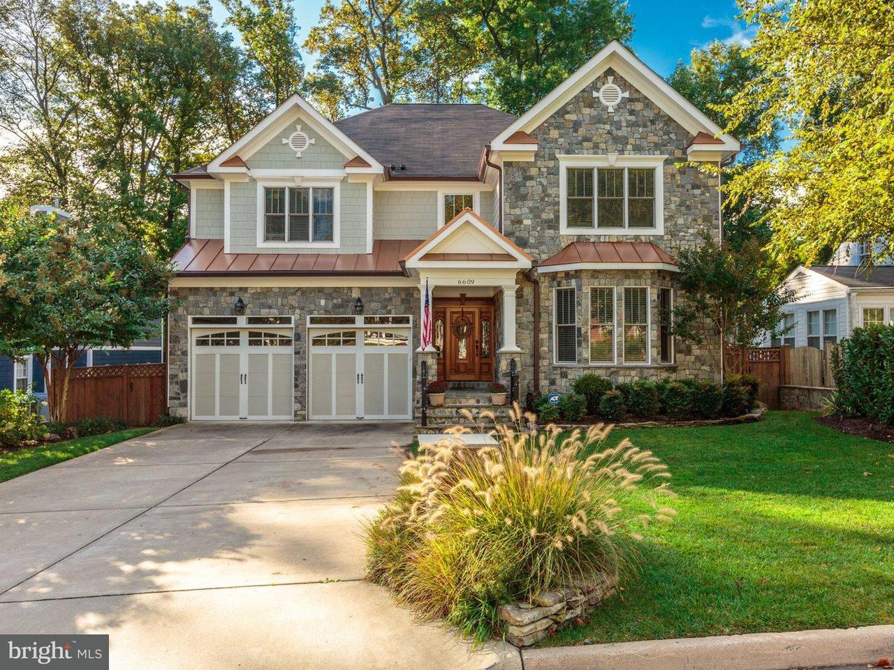 独户住宅 为 销售 在 6609 Orland Street 6609 Orland Street 弗尔斯切赫, 弗吉尼亚州 22043 美国