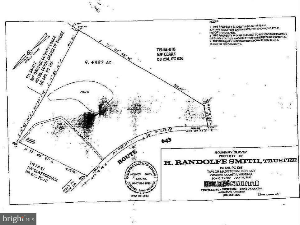 Land for Sale at Cox Mill Rd Orange, Virginia 22960 United States